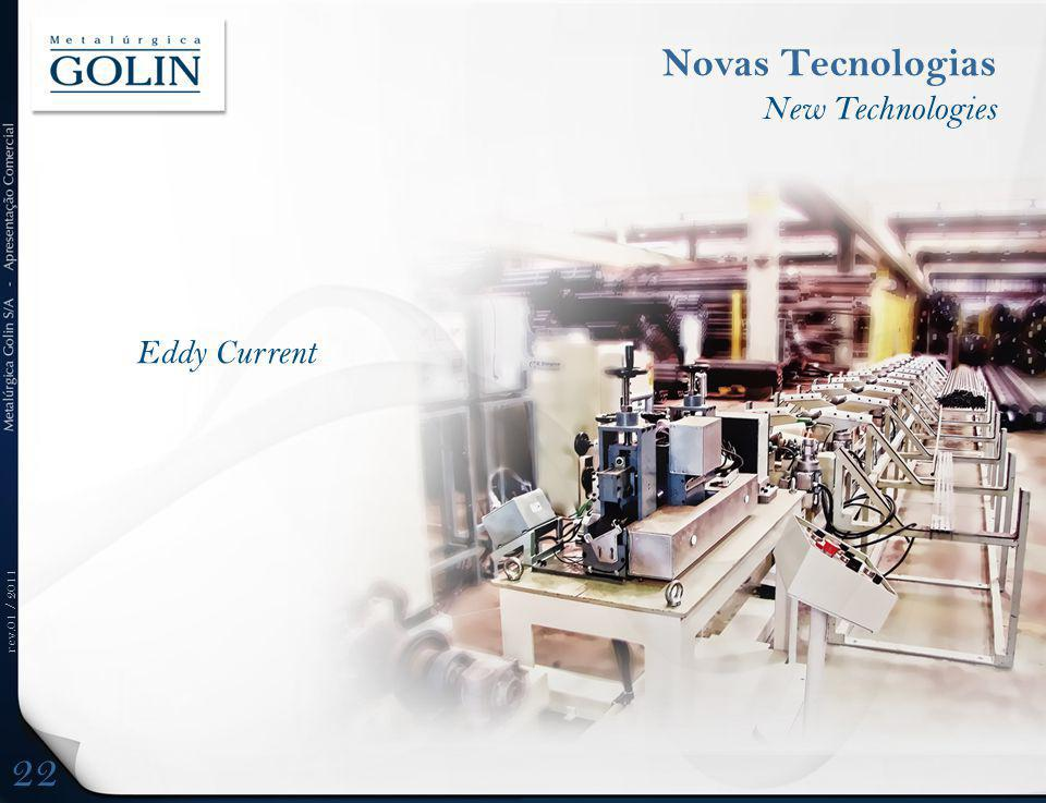rev.01 / 2011 Eddy Current Novas Tecnologias New Technologies 22
