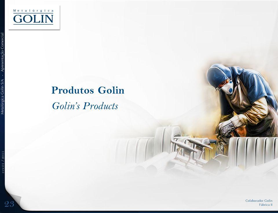 rev.01 / 2011 Produtos Golin Golins Products 23