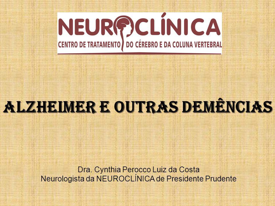 DOENÇA DE ALZHEIMER DEMÊNCIA POR CORPÚSCULOS DE LEVY DEMÊNCIA MISTA (DA + DEMÊNCIA VASCULAR) DEPRESSÃO DEMÊNCIA VASCULAR DISTÚRBIOS METABÓLICOS INTOXICAÇÃO POR DROGAS INFECÇÕES LESÕES ESTRUTURAIS DEMÊNCIA SECUNDÁRIA AO ÁLCOOL HIDROCEFALIA DE PRESSÃO INTERMITENTE DOENÇA DE PARKINSON DEGENERAÇÃO DO LOBO FRONTO TEMPORAL