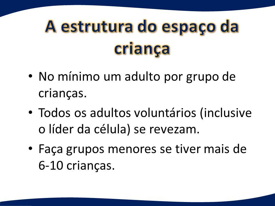 Pequeno grupo de crianças reunidas para – Cuidado mútuo – Oração – Questionamento e discussão Não é cuidar de crianças, fazer estudo bíblico ou muita