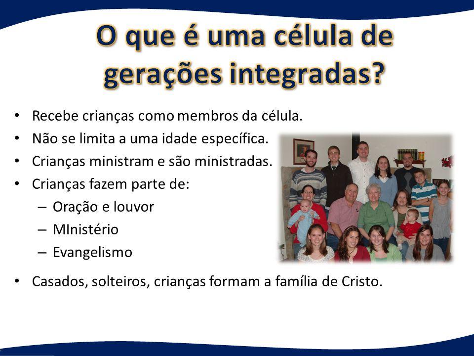 Pequeno grupo de crianças reunidas para – Cuidado mútuo – Oração – Questionamento e discussão Não é cuidar de crianças, fazer estudo bíblico ou muita atividade.