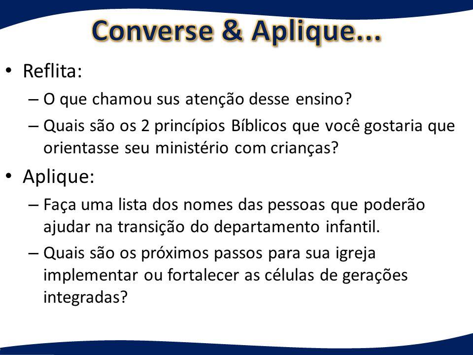 Apresentação do departamento infantil do Ministério Igreja em Células!