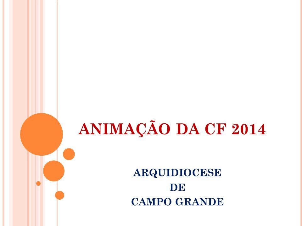ANIMAÇÃO DA CF 2014 ARQUIDIOCESE DE CAMPO GRANDE