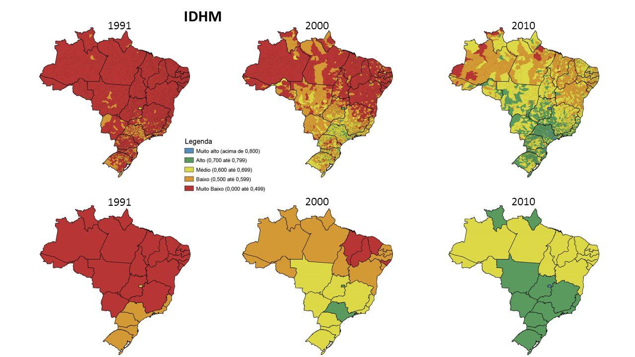Resultados do Atlas: IDHM e posição na REGIC