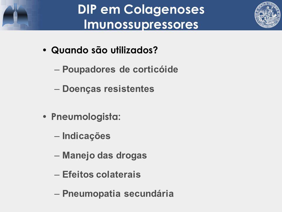 18 pacientes 9 Ciclo 1g/m 2 9 Ciclo 1g/m 2 + Prednisona (60-10 mg/Kg/dia) Tratamento por 1 ano Seguimento 3 anos: sem diferença na mortalidade Esclerodermia Tratamento Domiciano et al.