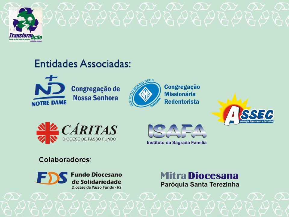 Entidades Associadas: Colaboradores:
