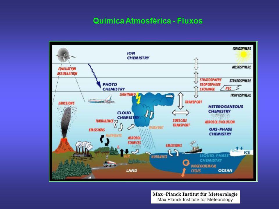 Química Atmosférica - Fluxos