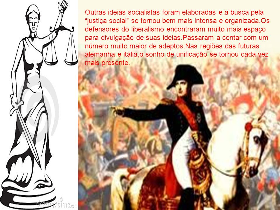 Logo após o fracasso da era das restaurações,em 1830,uma nova onda revolucionária de origem burguesa espalhou-se pela europa.No mesmo ano,foi publicad
