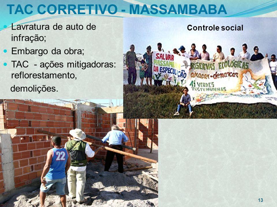 TAC CORRETIVO - MASSAMBABA 12