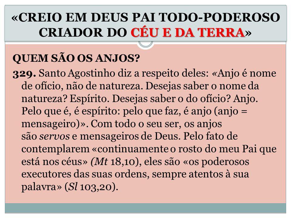 QUEM SÃO OS ANJOS.329.