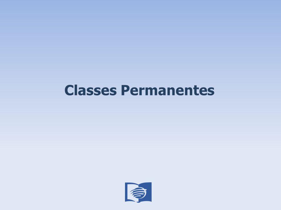 Classes Permanentes