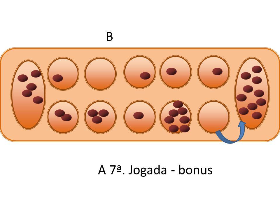 B A 7ª. Jogada - bonus