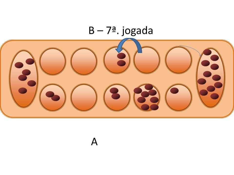 B – 7ª. jogada A