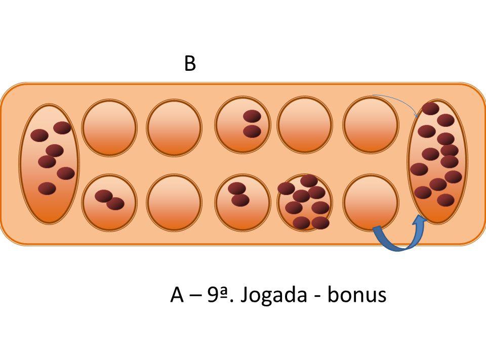 B A – 9ª. Jogada - bonus