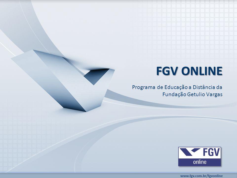 Programa de Educação a Distância da Fundação Getulio Vargas FGV ONLINE