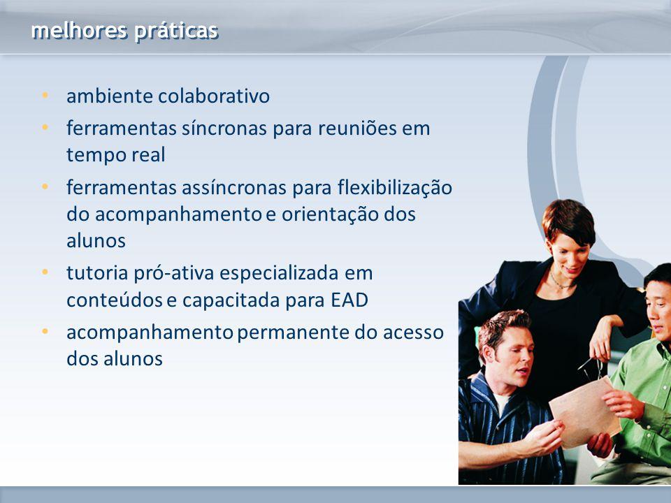 www.fgv.br/fgvonline ambiente colaborativo ferramentas síncronas para reuniões em tempo real ferramentas assíncronas para flexibilização do acompanham