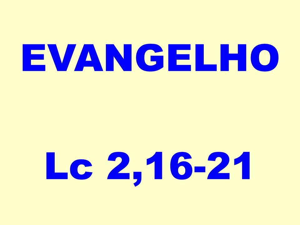 EVANGELHO Lc 2,16-21