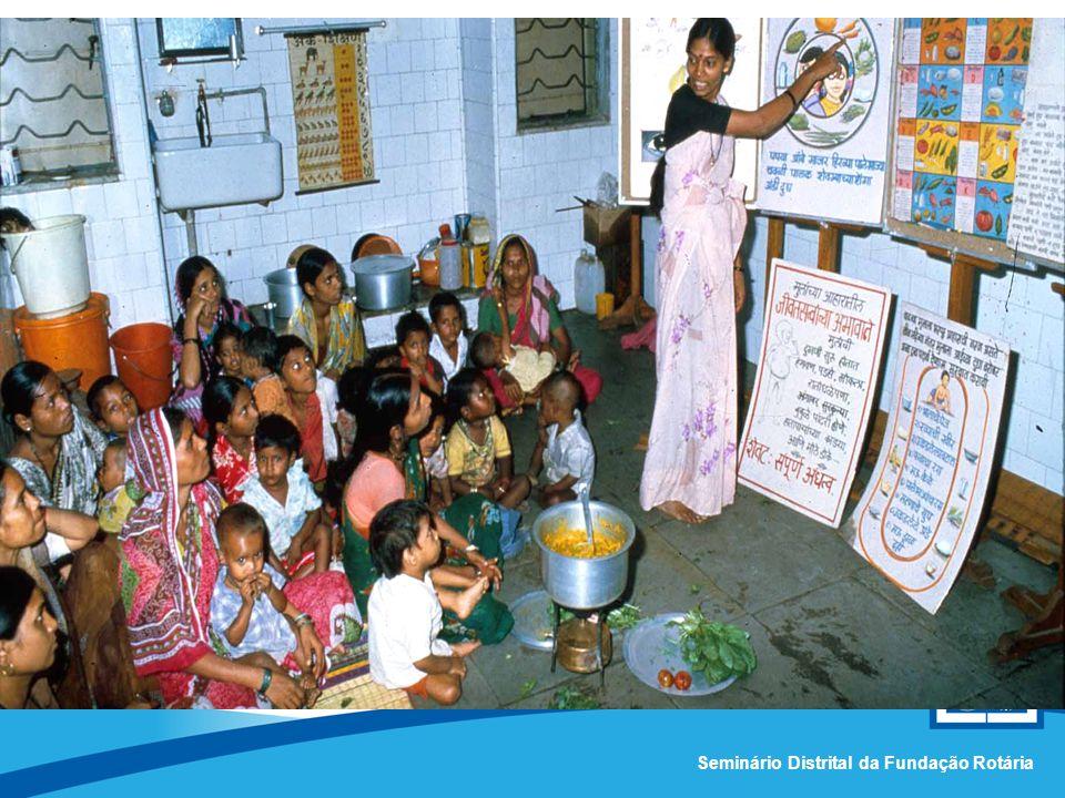 Comissão Distrital da Fundação Rotária – Distrito 4420Seminário Distrital da Fundação Rotária Subsídio Global –Um caso de sucesso