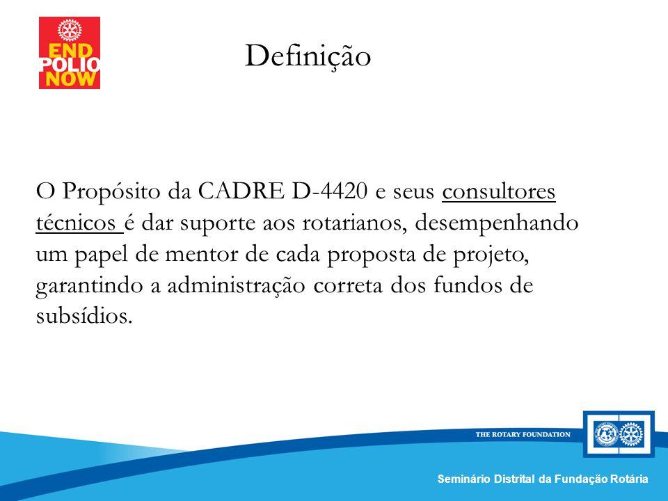 Comissão Distrital da Fundação Rotária – Distrito 4420Seminário Distrital da Fundação Rotária Sessão Interativa: Portal do R.I.