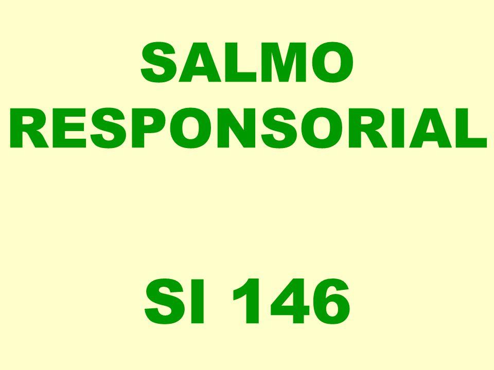 SALMO RESPONSORIAL Sl 146