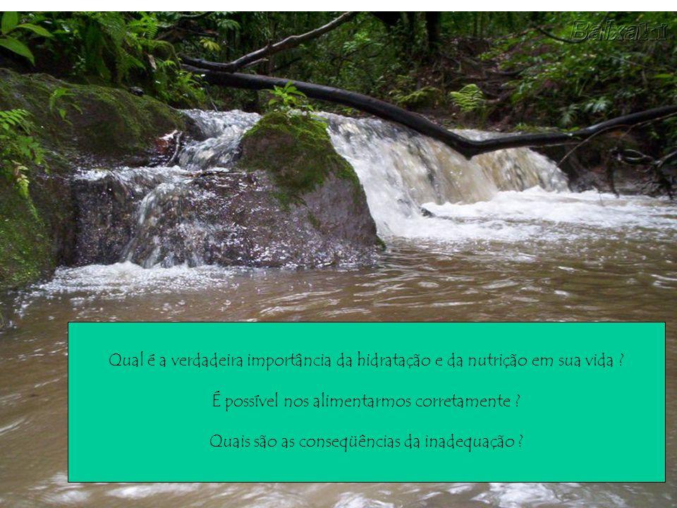 Qual é a verdadeira importância da hidratação e da nutrição em sua vida .