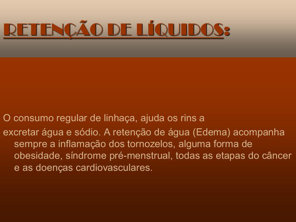 DOENÇAS INFLAMATÓRIAS: O consumo de linhaça diminui as condições inflamatórias de todo tipo.