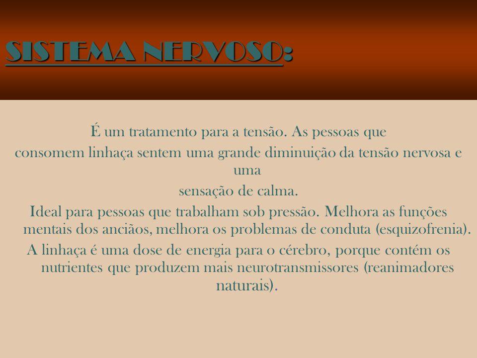 SISTEMA DIGESTIVO: Previne e cura o câncer de cólon. Ideal para artrite, prisão de ventre, acidez estomacal. Lubrifica e regenera a flora intestinal.
