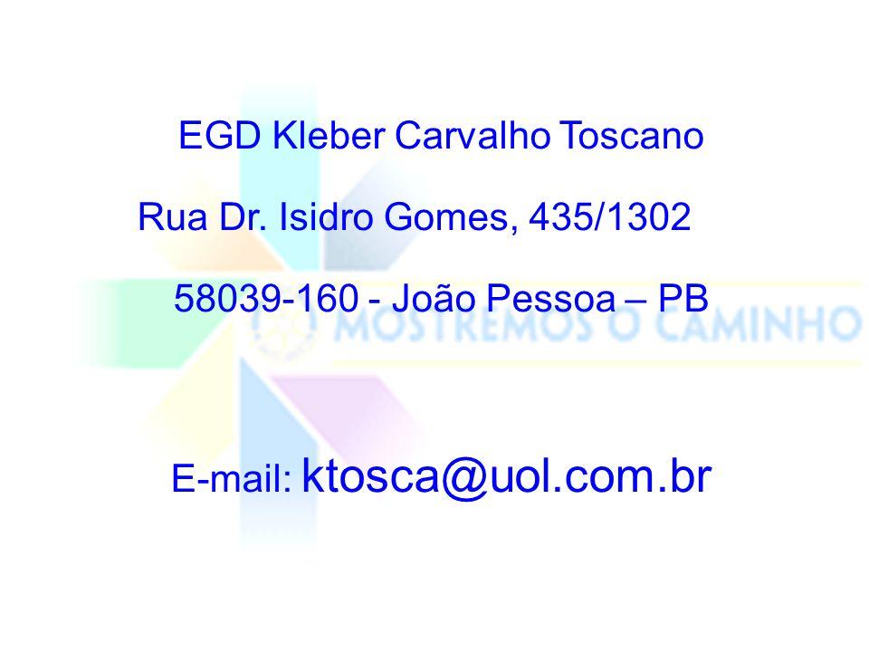 EGD Kleber Carvalho Toscano Rua Dr.