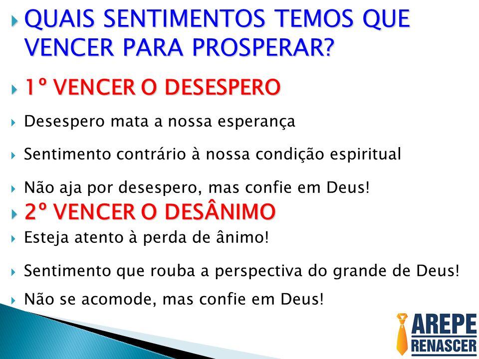 """Apresenta��o """"3� Dia � VENCER O DESESPERO E O DESANIMO PARA ..."""