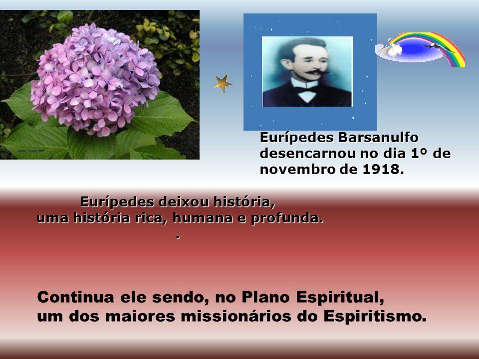 Entre 1907 e 1912, Eurípedes Barsanulfo foi vereador de Sacramento. Trabalhou, e muito, em benefício da comunidade. Apesar de sua dedicação aos pobres