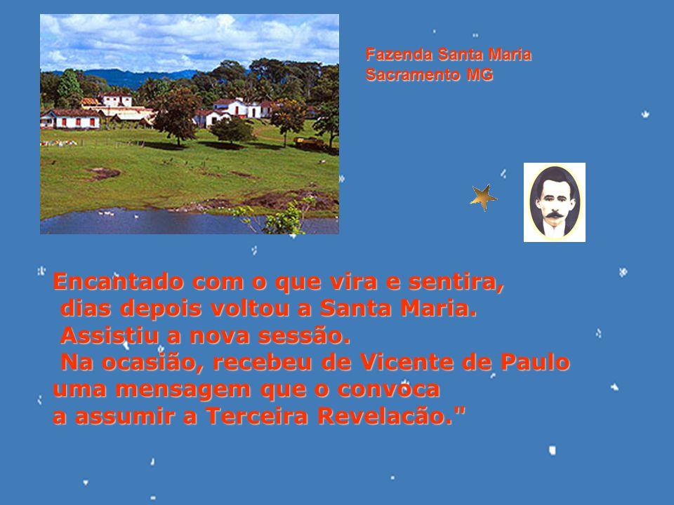 Foi na sexta-feira da Paixão do ano de 1904 que Eurípedes Barsanulfo, acompanhado do amigo José Martins Borges, foi assistir a uma sessão espírita na