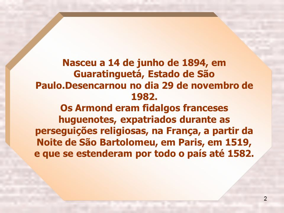 1 1894 - 1982