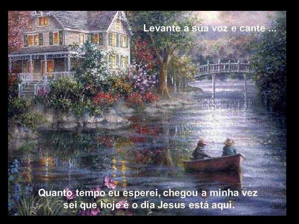Levanta a mão do seu irmão, o Senhor está aqui, deixe ELE mover as águas na sua vida...