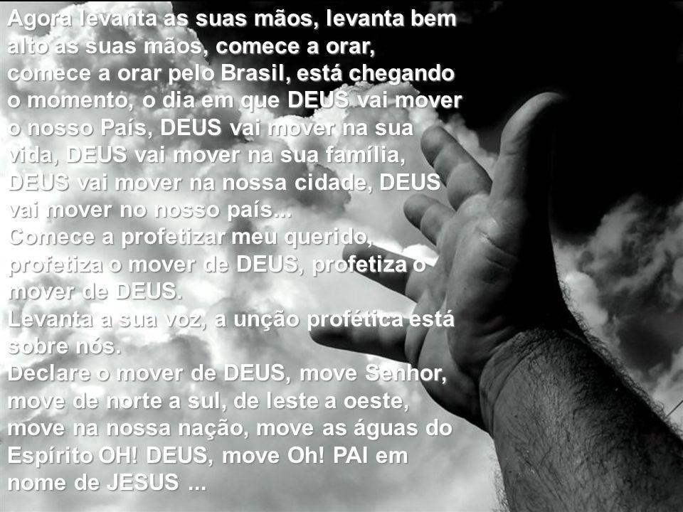 MOVE AS ÁGUAS SENHOR, MOVE AS ÁGUAS, VOU MERGULHAR VOU RESTAURAR A MINHA VIDA. MOVE AS ÁGUAS SENHOR, MOVE AS ÁGUAS, VOU MERGULHAR ME LIBERTAR, SIM MOV