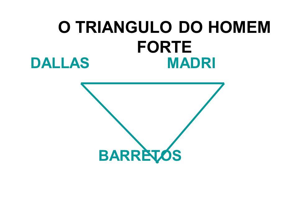 O TRIANGULO DO HOMEM FORTE DALLASMADRI BARRETOS