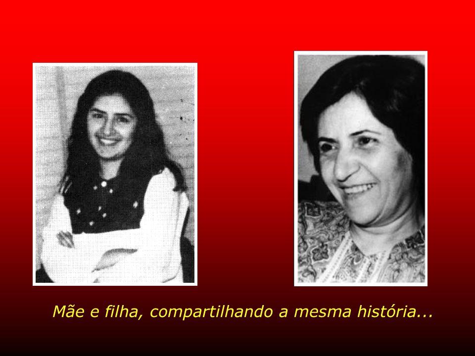 Sra. Izzat Ishraqi, 50 anos Transmitia força e esperança a todas as companheiras de cárcere, incluindo a sua filha, Roya.