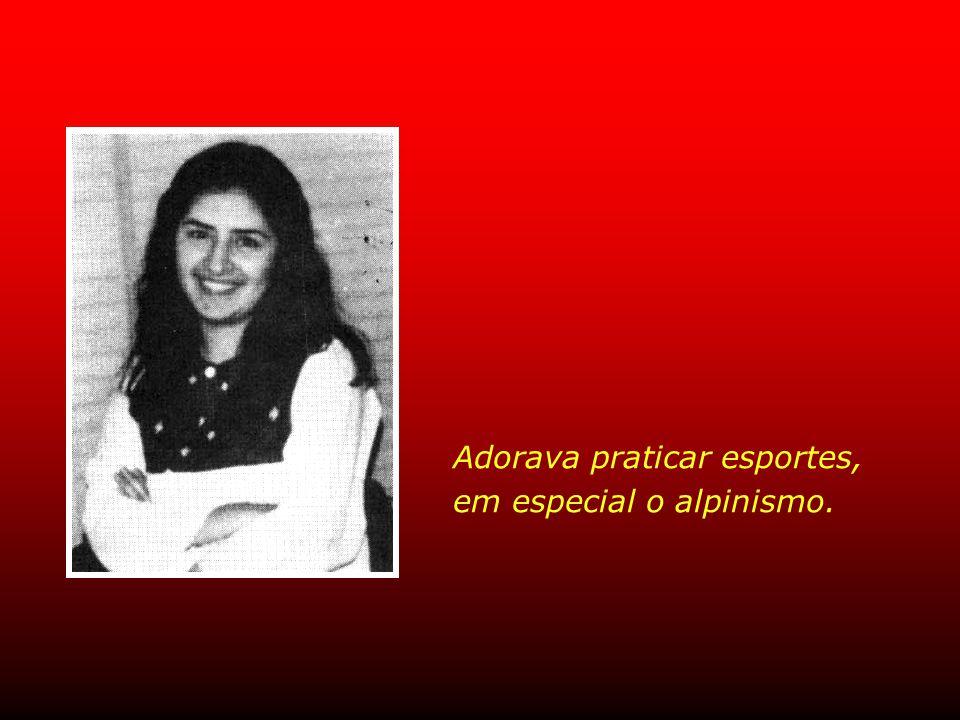 Roya Ishraqi, 23 anos Estudante de Medicina Veterinária, era uma das prisioneiras mais radiantes e queridas, constante centro das atenções.