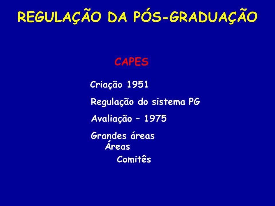2.Corpo docente (20%) AVALIAÇÃO DA PÓS-GRADUAÇÃO 3.
