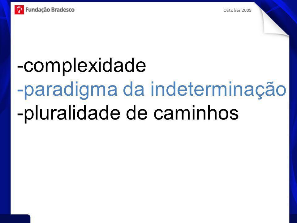 October 2009 saudação aos educadores de EAD