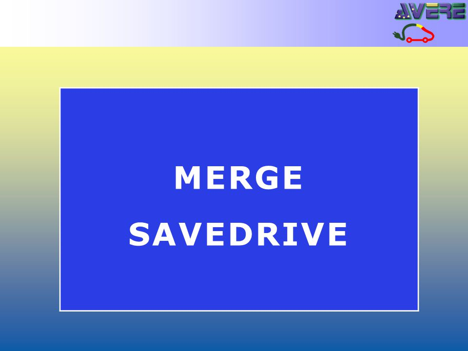 MERGE SAVEDRIVE
