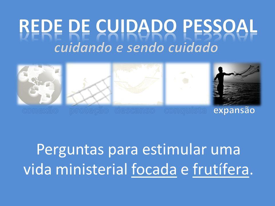 Perguntas para estimular uma vida ministerial focada e frutífera.