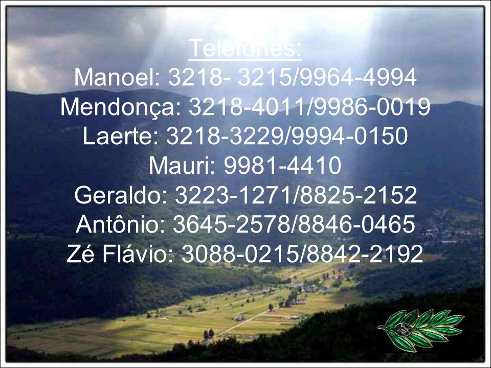 Aniversariantes: Manoel 28/06 - Olineide 02/12 Mendonça 25/04 – Maria 01/04 Laerte 16/02 – Marluce 17/10 Mauri 25/07 – Eliana 28/05 Geraldo – 28/09 –