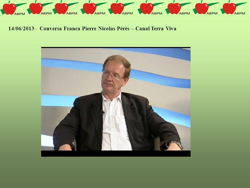 Três pleitos do setor produtor de maçã foram levados ao conhecimento do Ministro de Agricultura, Antônio Andrade, na última quarta-feira (26/06).