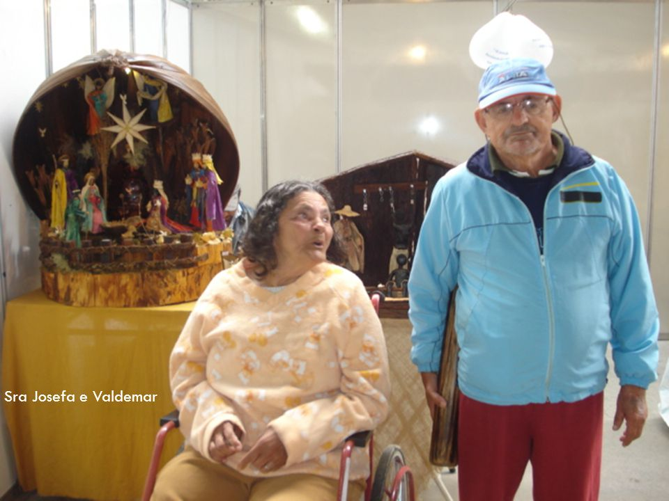 Sra Josefa e Valdemar