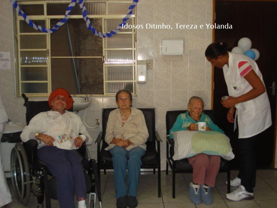Idosos Ditinho, Tereza e Yolanda