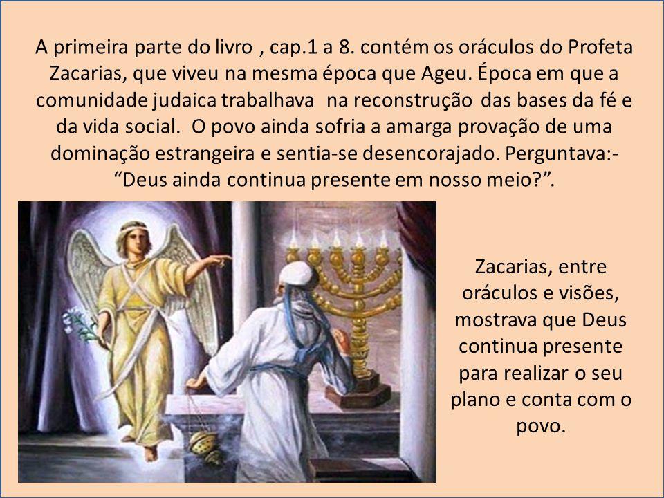 1 – O que ficou na memória destas dois profetas.2 – O que Malaquias queria.