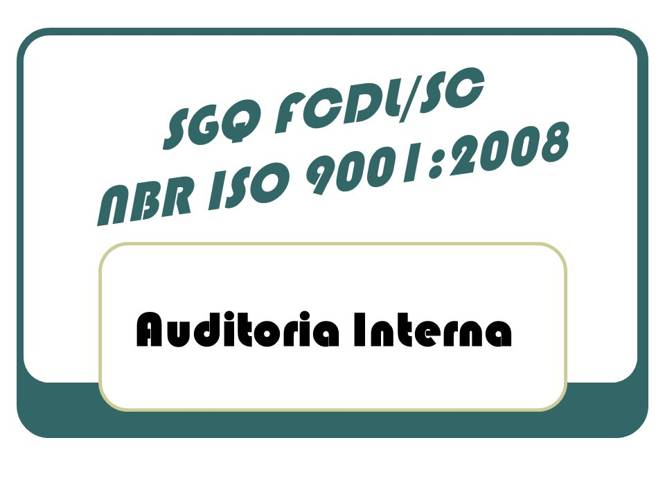 Os funcionários qualificados para atuarem como auditores internos, realizaram a auditoria interna no Processo do Sistema de Gestão da Qualidade da FCDL/SC, passando por todos os setores e pelo nosso Presidente Sr.