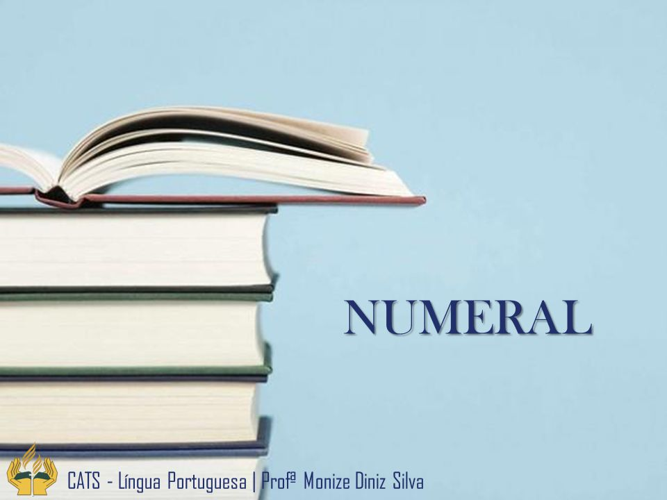 NUMERAL CATS - Língua Portuguesa   Profª Monize Diniz Silva