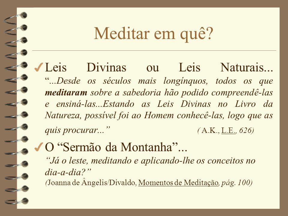 Notas muito IMPORTANTES!!.4 Se algum Médium sentir influência espiritual não dê campo.