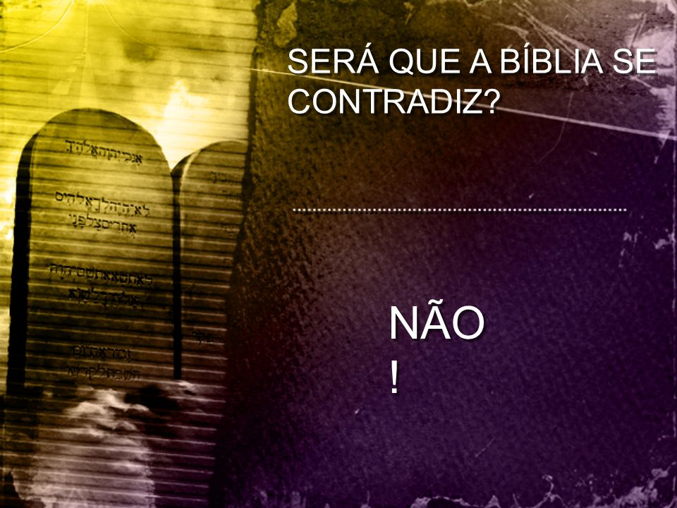A LEI DE DEUS É A PERFEITA EXPRESSÃO DO SEU CARÁTER DEUS É AMOR (1ª João 4:8) A SUA LEI É AMOR (Mateus 22:36 a 40) DEUS É JUSTO (Salmo 7:9) A SUA LEI É JUSTA (Romanos 7:12) DEUS É SANTO (Isaías 6:3) A SUA LEI É SANTA (Romanos 7:12) DEUS É AMOR (1ª João 4:8) A SUA LEI É AMOR (Mateus 22:36 a 40) DEUS É JUSTO (Salmo 7:9) A SUA LEI É JUSTA (Romanos 7:12) DEUS É SANTO (Isaías 6:3) A SUA LEI É SANTA (Romanos 7:12)